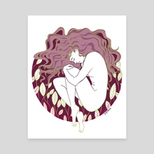 Cocoon - Canvas by Kim Kresan