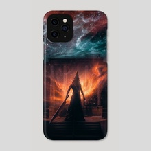 Pyramid Head from Silent Hill - Phone Case by Marischa  Fanarts