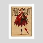 Harlequinade - Art Print by Claire Hummel