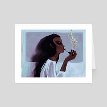 Pipe Dreams - Art Card by Nicholas Sutherland