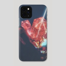 over charge - Phone Case by drewmadestuff