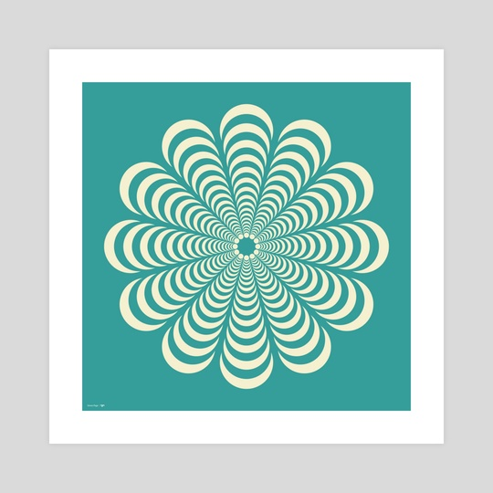 Colour of series - Turquoise by Simon C Page