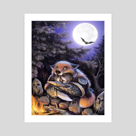 owl warlock by Vladimir Arzevitin