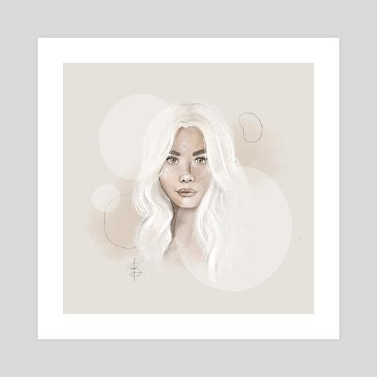 Female Portrait II by Ana Brezovec