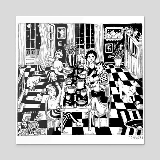 Dinner With The Girls by Julia von Buch