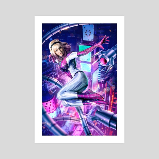 Spider-Gwen: Out of Reach by Pat Loika