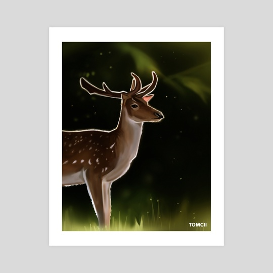 Deer 2 by Tomcii Art