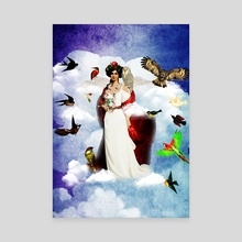 The Queen of Birds - Canvas by Michal Eyal