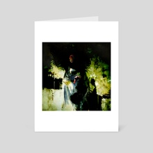Woman In My Closet - Art Card by Kip Ayers