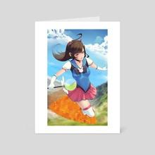 Mahou Shoujo DVa - Art Card by Anna Lee