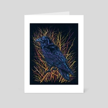 Watcher in the Willows - Art Card by Emily Poole