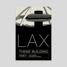 LAX - Canvas by Gianmarco Magnani