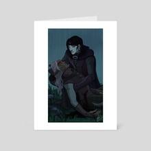 Turn and Beleg  - Art Card by NaomiMakesArt