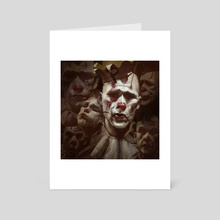 Puddles Pity Party - Art Card by Izzy Medrano