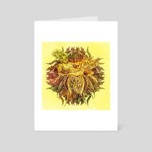 Botanical Lust - 3 - Art Card by Aleks Shcherbakov