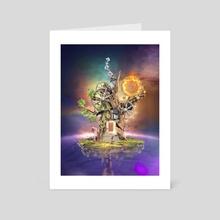 tree of fantasy - Art Card by Rüdiger Lauktien