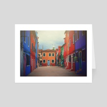 Milano - Art Card by Nicole Peterson