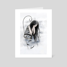 Raven Tears - Art Card by Anima Somnia