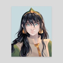 Toph - Canvas by Heather Lane