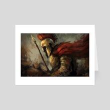 Spartan - Art Card by Imad Awan