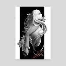 Elysian Mermaid - Canvas by Victoria Jeon