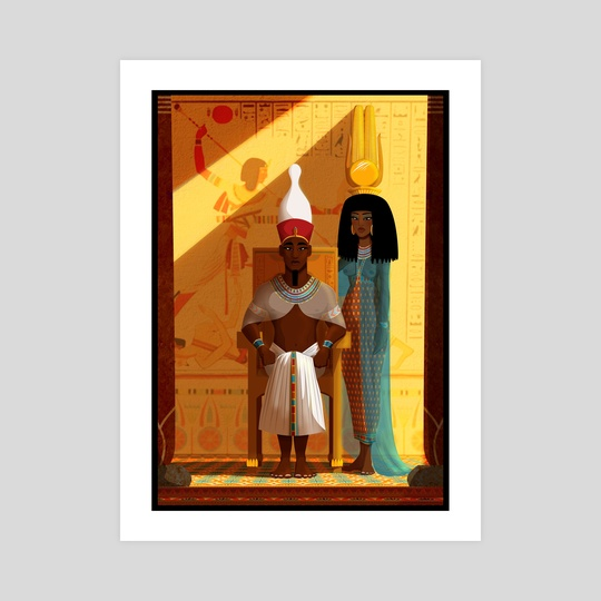 Amun is Satisfied by Sandro Perovic
