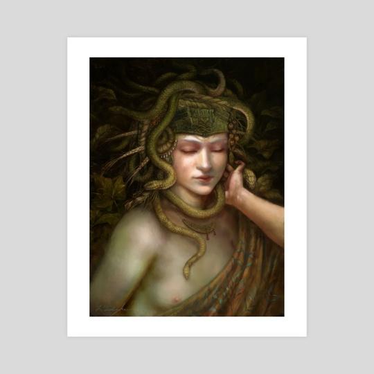 Minoan Snake Goddess by Leanna TenEycke