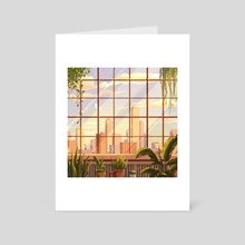 City View - Art Card by Brittnie