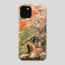 Water Moon Guanyin Bodhisattva.  - Phone Case by Gio Pennacchietti