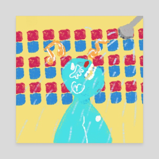 shower singer by Orin Dee