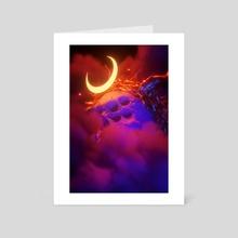 Lunar Prism II - Art Card by sick 666 mick