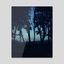 Early Morning Light - Acrylic by Reed Novak