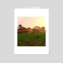 Fallen Giant - Art Card by SageDog Studios