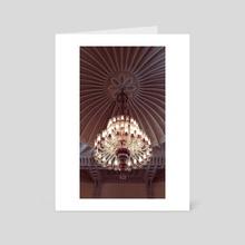 Luxury Lamp - Art Card by Mehmet Emin Doğan