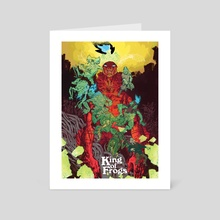 King of Frogs - Art Card by Artyom Trakhanov