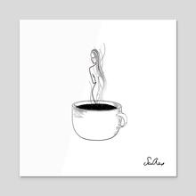 in my cup - Acrylic by sad alex