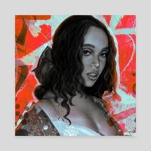 FKA Twigs - Canvas by Sadie Lew
