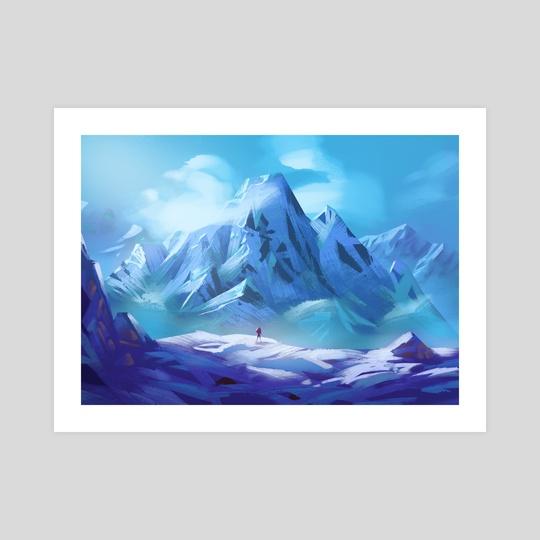 The Snowland by Elias Neophytou