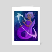 Entranced By Starlight - Art Card by imber rose