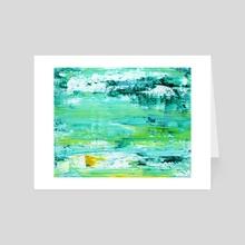 King Tide  - Art Card by James Cooper