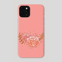 Two Clear Roses - Phone Case by Hyemin Yoo