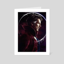 Doctor Strange - Art Card by Dmitry Belov