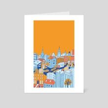 Big City Life - Art Card by Tanya Shyika