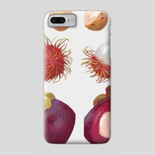 Malaysian Fruits - Phone Case by Allison Chin