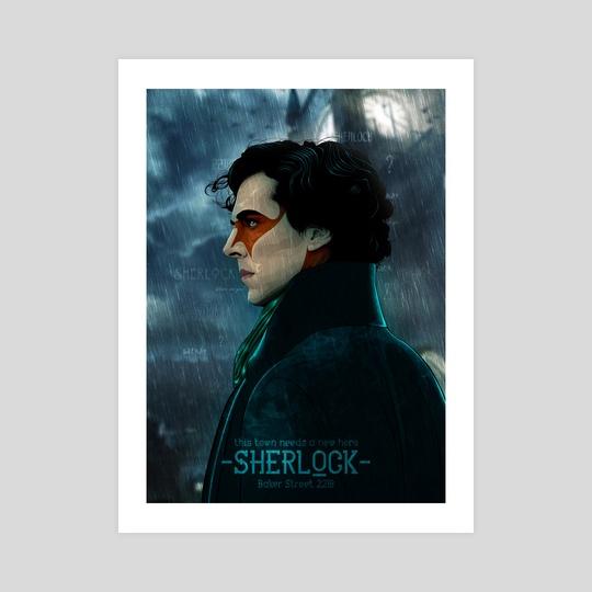 Sherlock Holmes by Denis Shevchenko