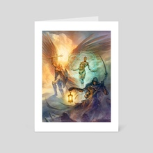 Inner Sea Faiths - Art Card by Denman Rooke