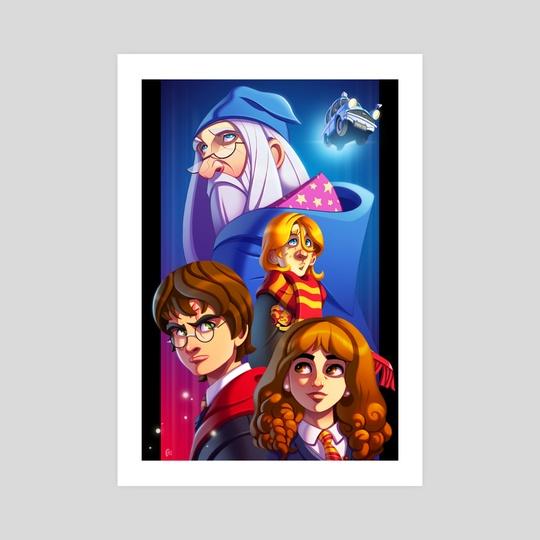 Harry Potter by Uroš Begović