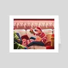 merry Christmas - Art Card by em