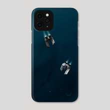 Space Dance - Phone Case by Lilia Smith