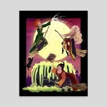 Hocus Pocus - Canvas by Ashley Rivardo